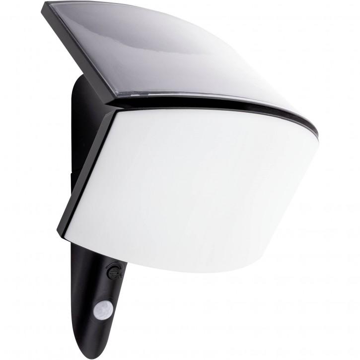 REV McSensor LED Solarleuchte 3W anthrazit