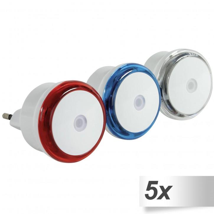 5x REV LED Nachtlicht Set 3 Stück