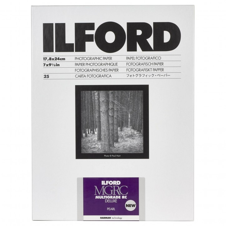 1x 25 Ilford MG RC DL 44M  18x24
