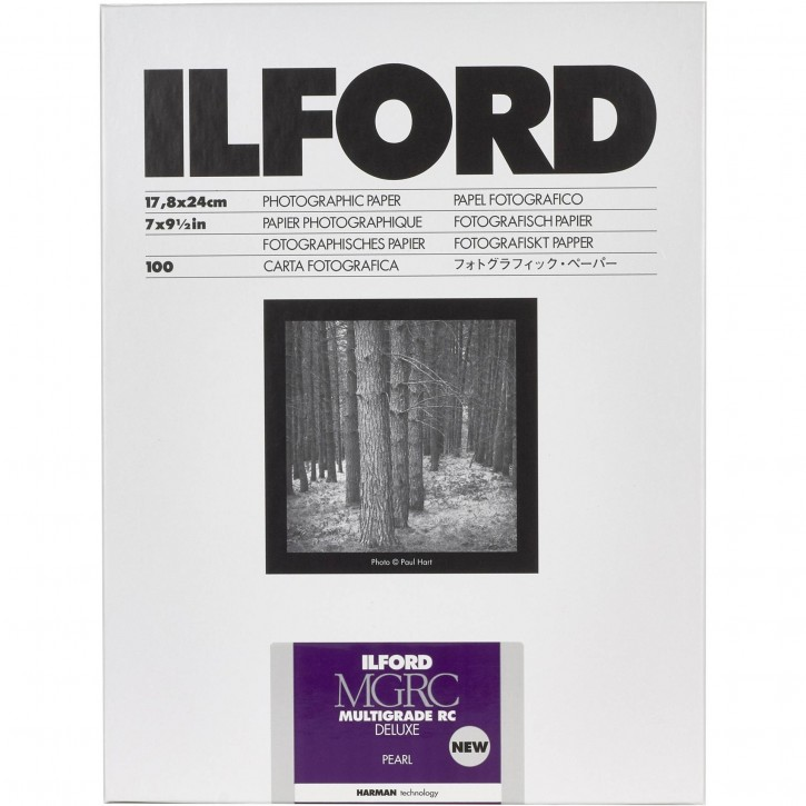 1x100 Ilford MG RC DL 44M  18x24