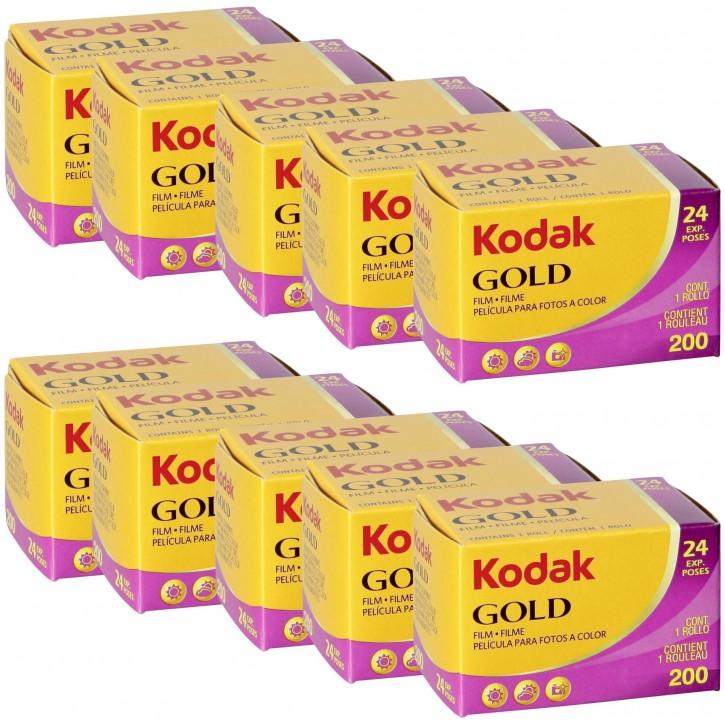 10 Kodak Gold         200 135/24