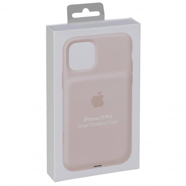 Apple iPhone 11 Pro Smart Batt. Case + Wireless Charging pink