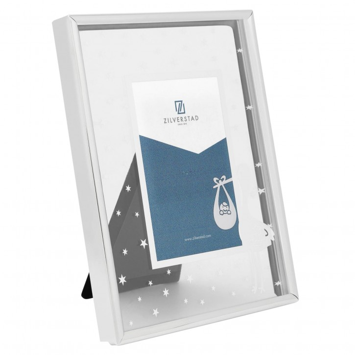 Zilverstad Storch          10x15 Metall silber / Glas     8132231