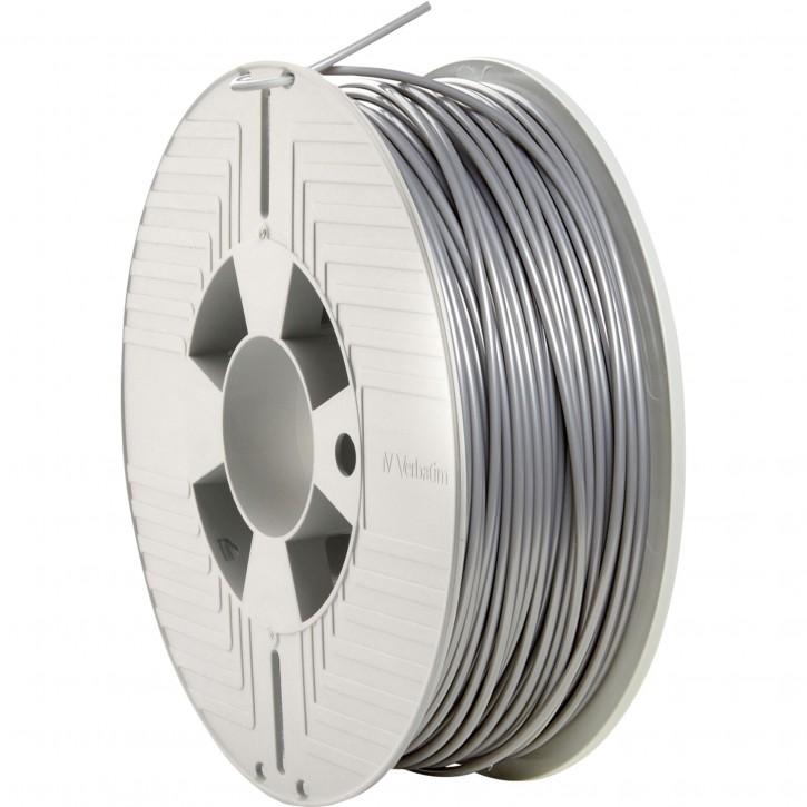 Verbatim 3D Printer Filament PLA 2,85 mm 1 kg silver/metal grey