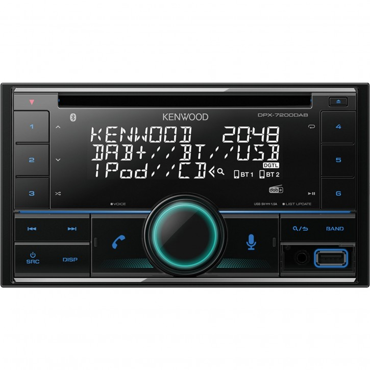Kenwood DPX7200DAB inkl. DAB-Antenne