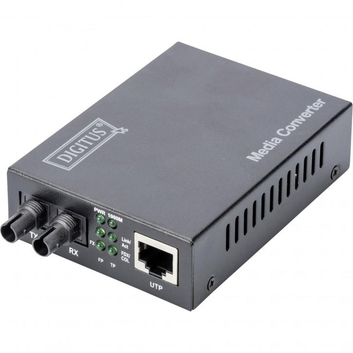 DIGITUS Gigabit Medienkonverter bis zu 0.5km