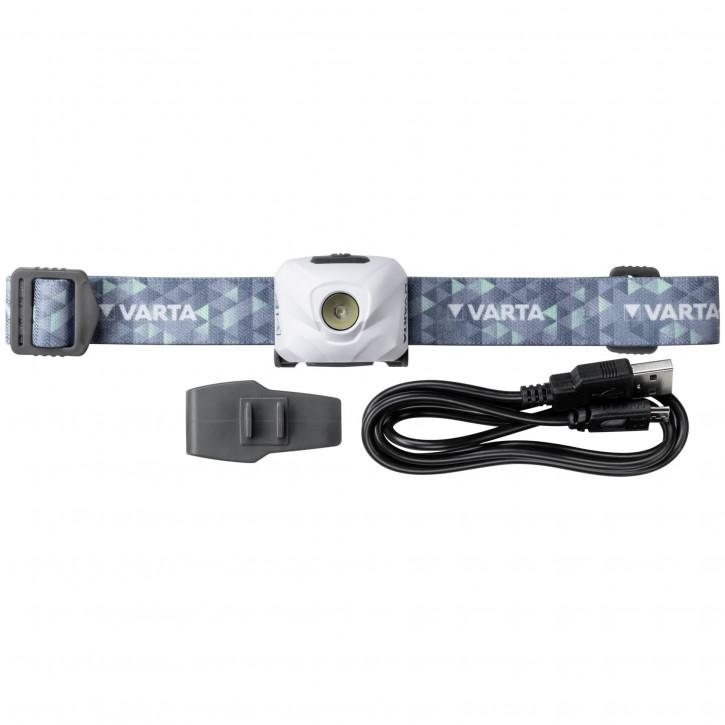 Varta Outdoor Sports Ultralight H30R weiß, wiederaufladbar