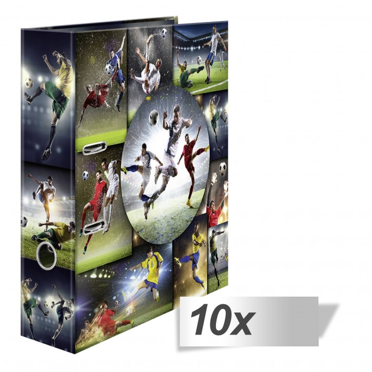 10x1 Herma Motiv-Ordner Sports Collection Fußball DIN A4  19185