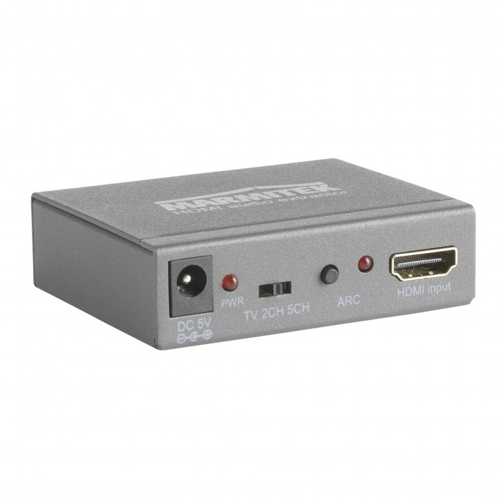 Marmitek HDMI Konverter 4K Audio Extractor Connect AE14