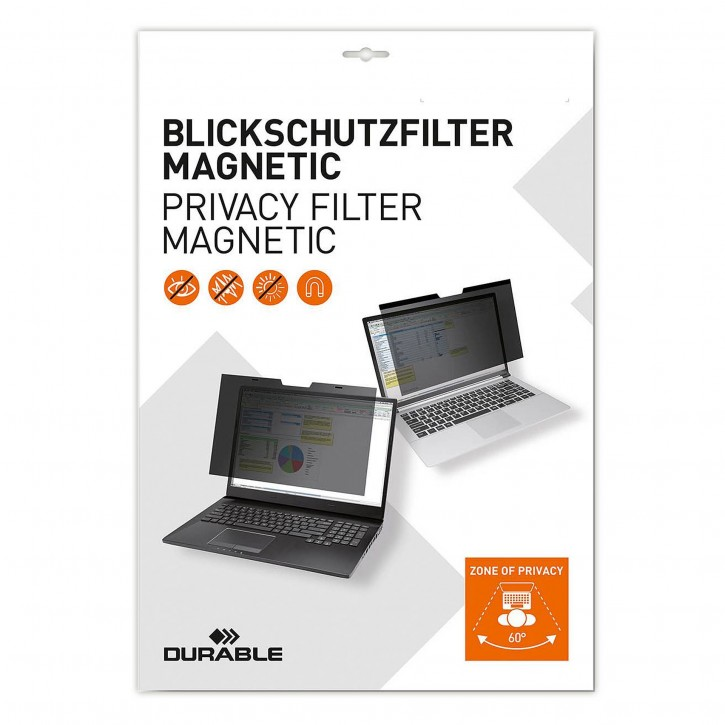 DURABLE Blickschutz MacBook Pro 13 MAGNETIC anthrazit 515357