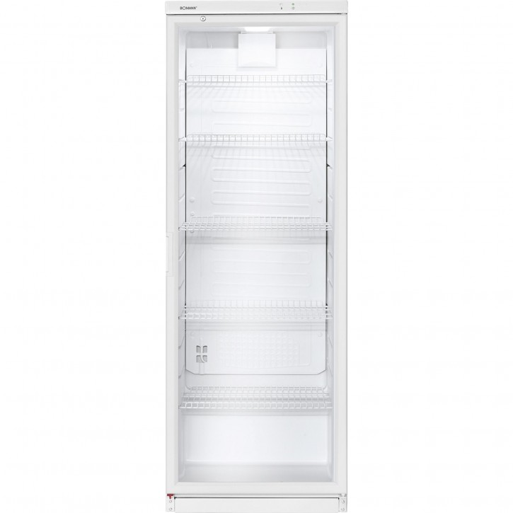 Bomann KSG 239 Glastür-Kühlschrank         weiß