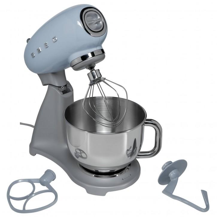 SMEG Küchenmaschine SMF02 pastellblau