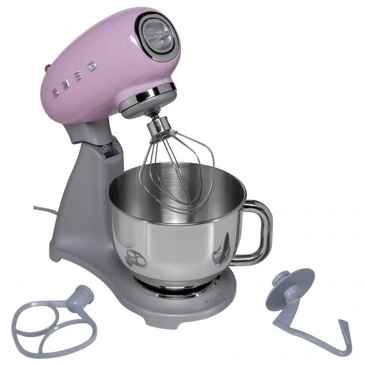 SMEG Küchenmaschine SMF02 pink