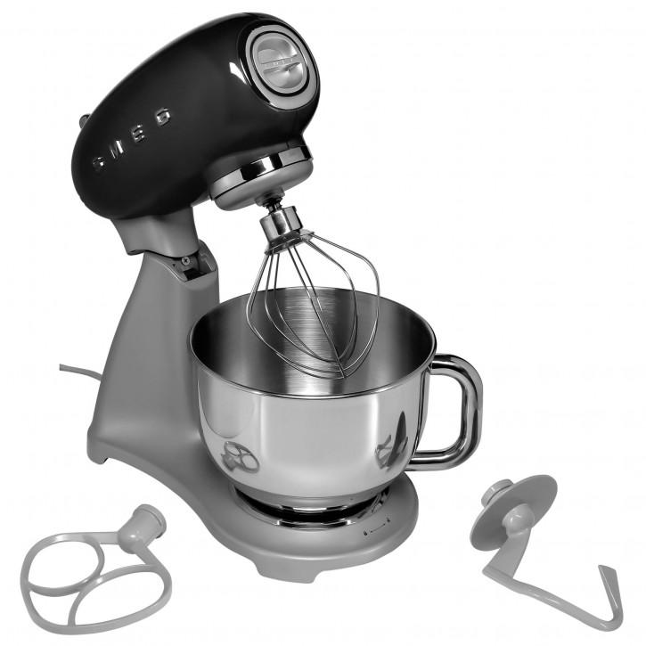 SMEG Küchenmaschine SMF02 schwarz