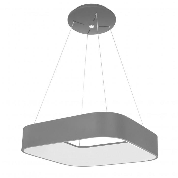 WOFI LED Pendelleuchte GRAND grau 30W 3400lm