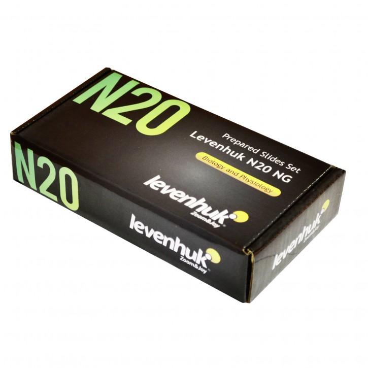 Levenhuk N20 NG Objektträger Set