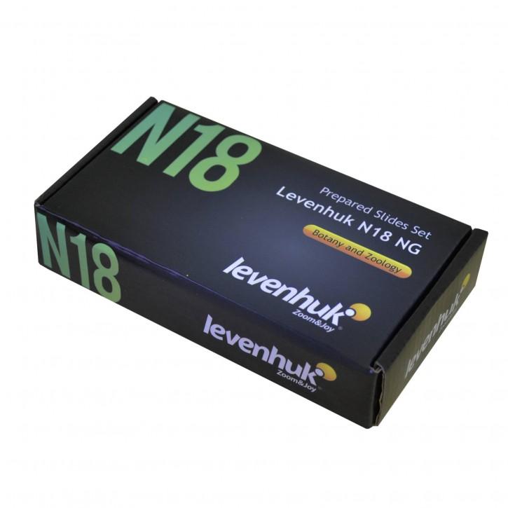 Levenhuk N18 NG Objektträger Set