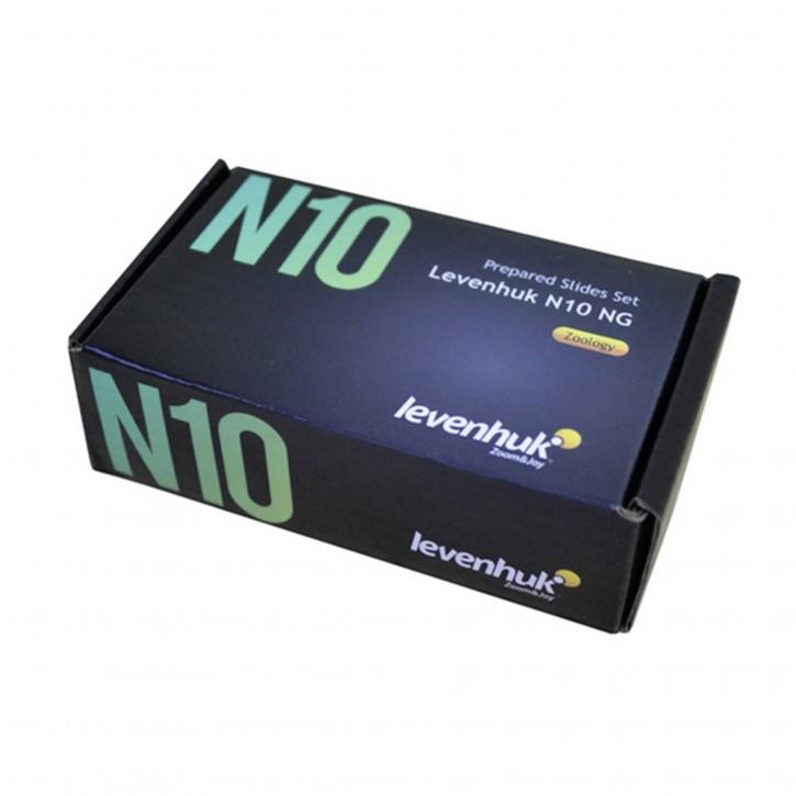 Levenhuk N10 NG Objektträger Set