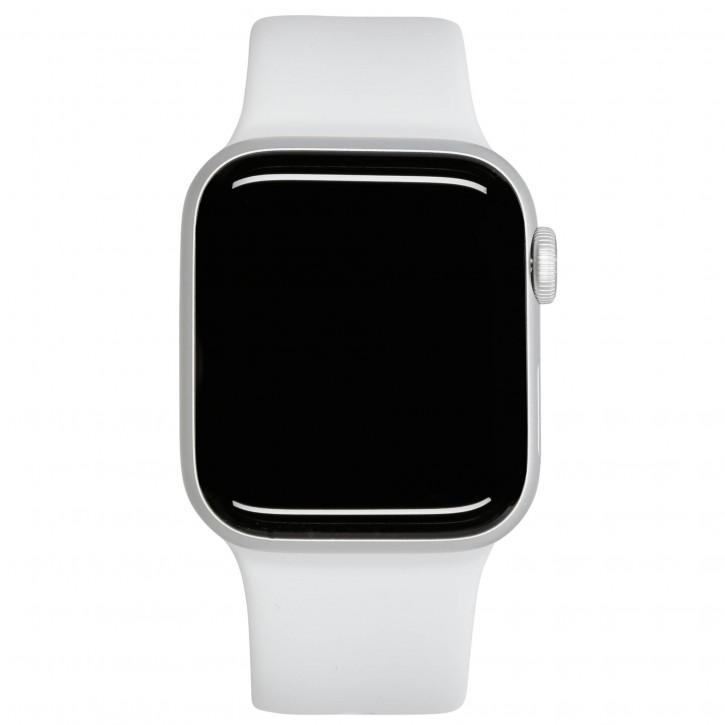 Apple Watch SE GPS 44mm Silver Alu White Sport Band