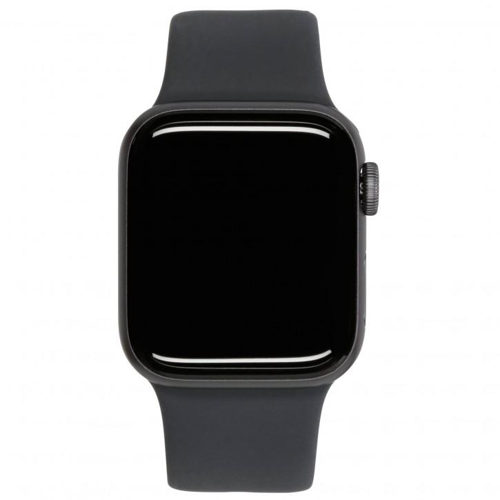Apple Watch SE GPS + Cell 40mm Space Gray Alu Black Sport Band