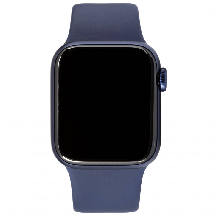 Apple Watch Series 6 GPS 40mm Blue Alu Case Navy Sport Band