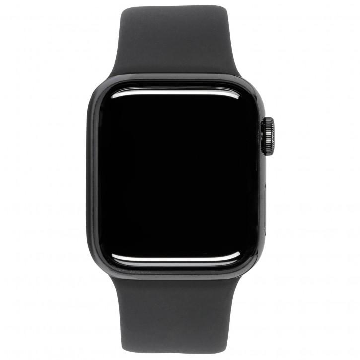 Apple Watch Series 6 GPS + Cell 44mm Gra. Steel Black Sport Band