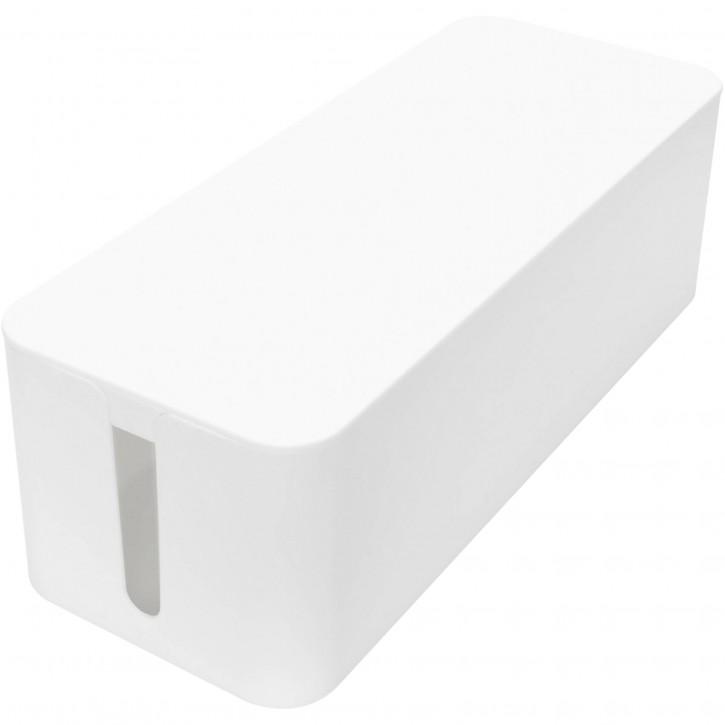 DIGITUS Kabelmanagement Box L weiß