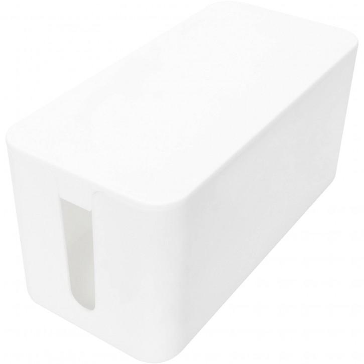 DIGITUS Kabelmanagement Box S weiß