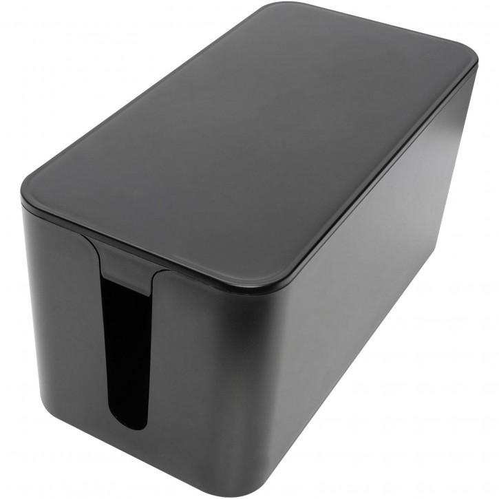 DIGITUS Kabelmanagement Box S schwarz