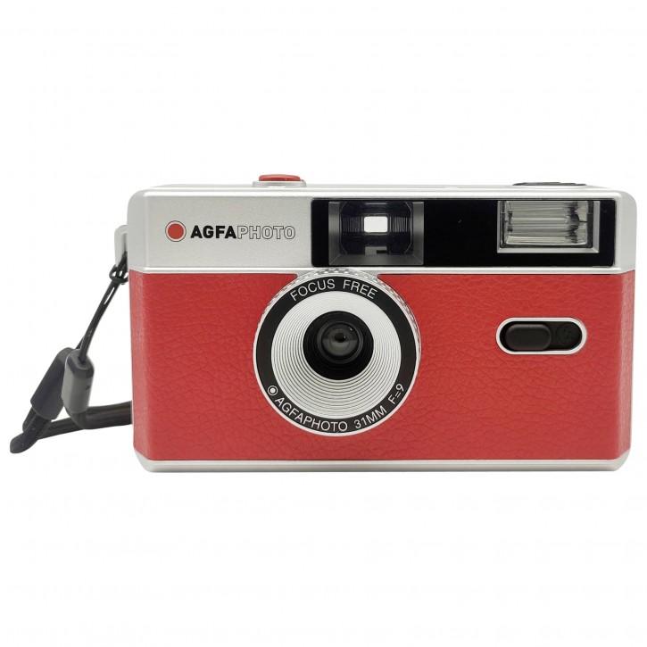 Agfaphoto Reusable Photo Camera 35mm rot