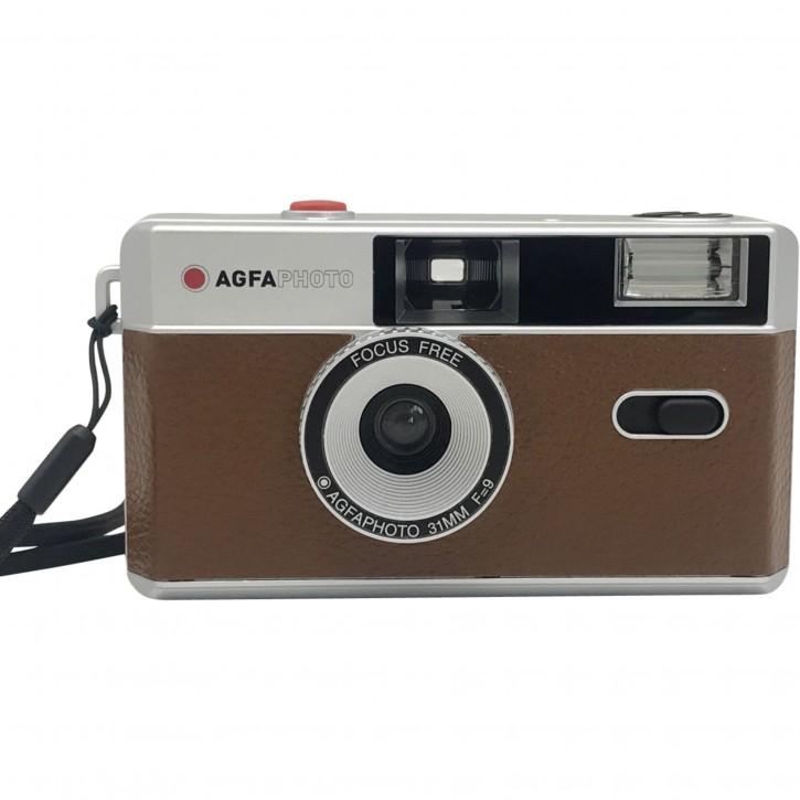 Agfaphoto Reusable Photo Camera 35mm braun