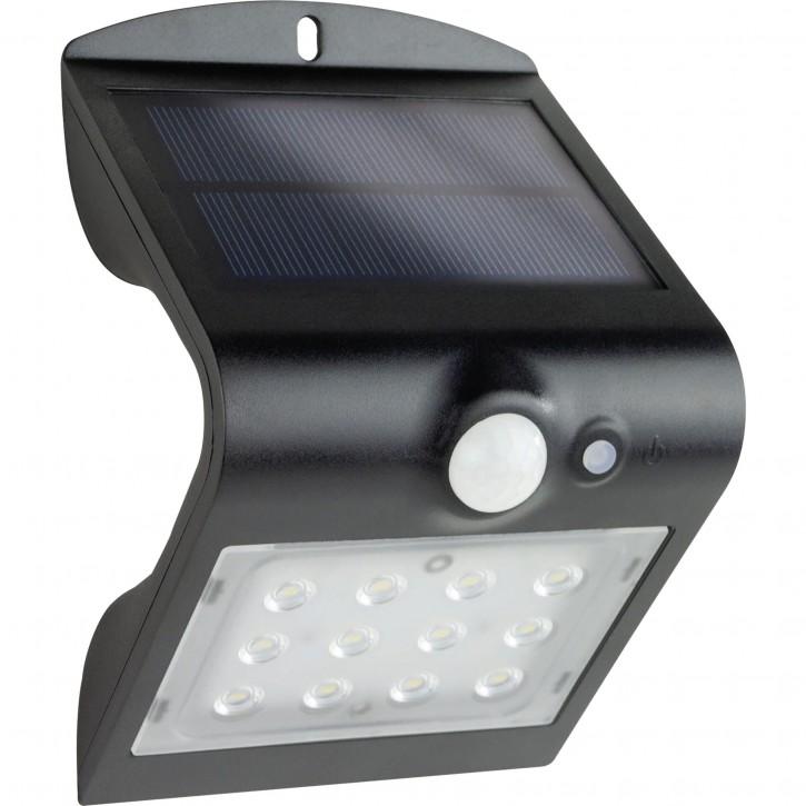 REV Solar LED Butterfly mit Bewegungsmelder 1,5W schwarz