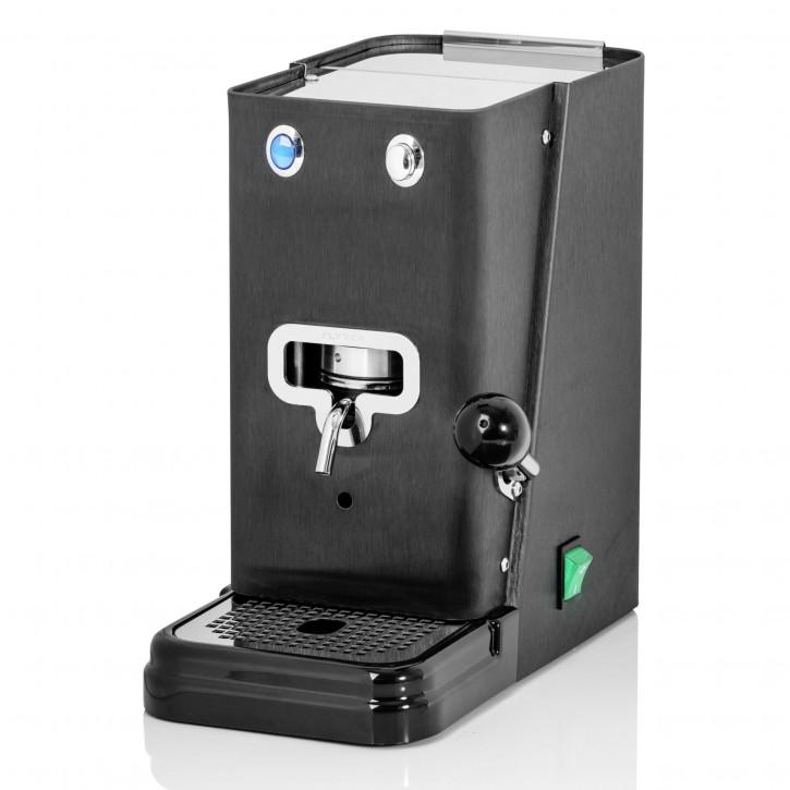 Flytek ZIP NERO OPACO ESE Pad-Kaffeemaschine