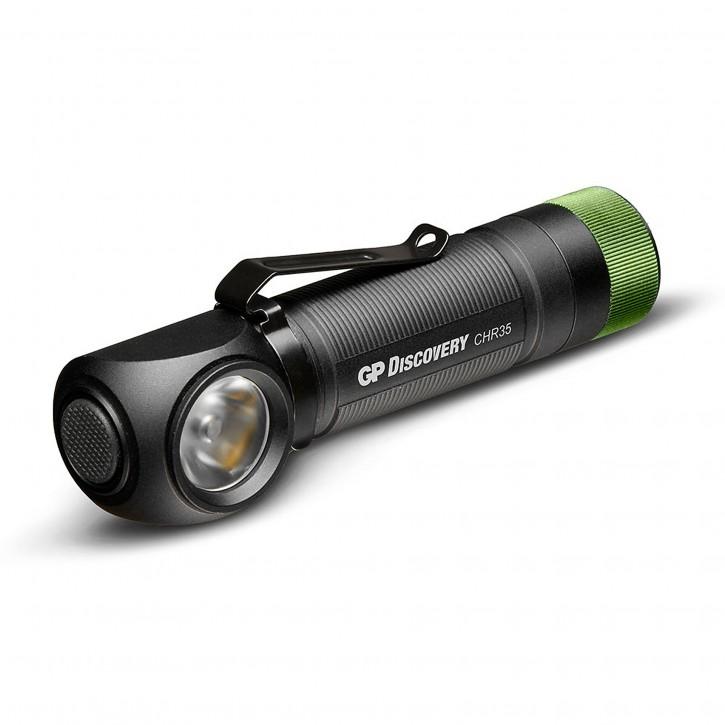 GP Multifunktions-Stirnlampe 600 Lumen+18650  260GPACTCH35000