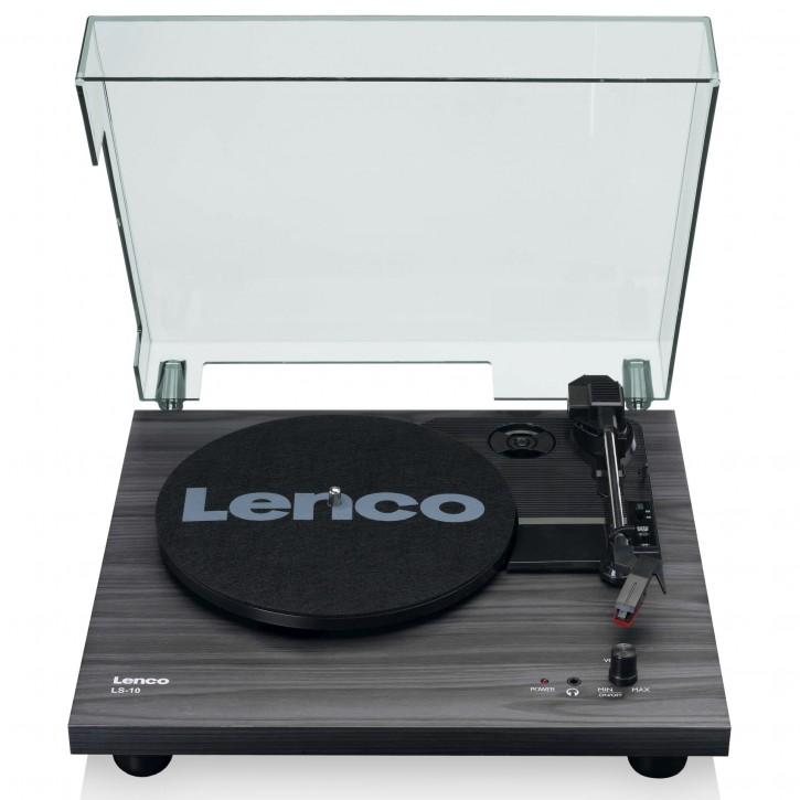 Lenco LS-10 schwarz