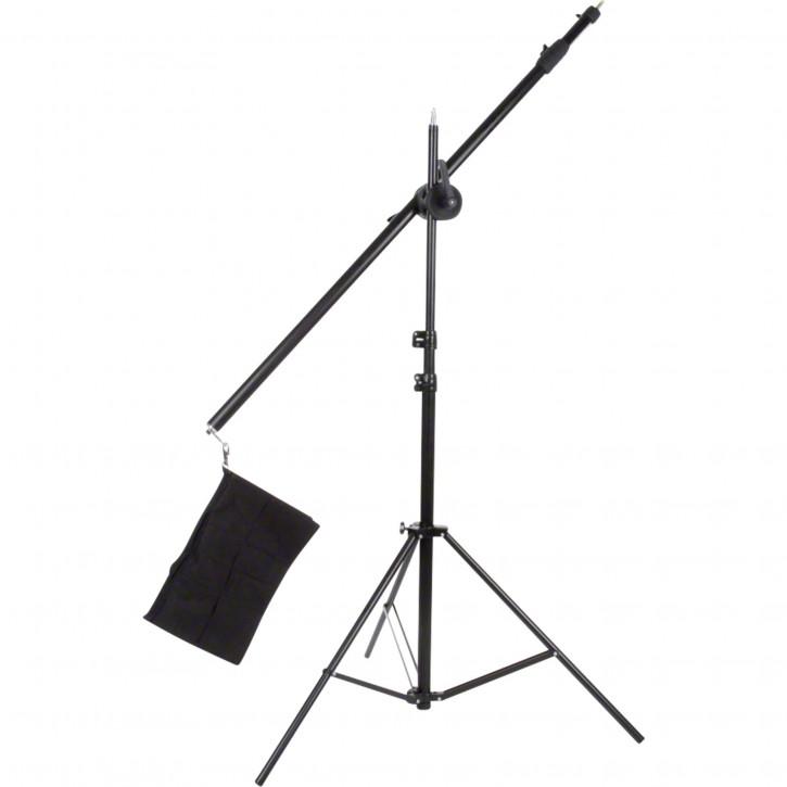 walimex Galgenstativ mit Beschwerungstasche, 120-220cm