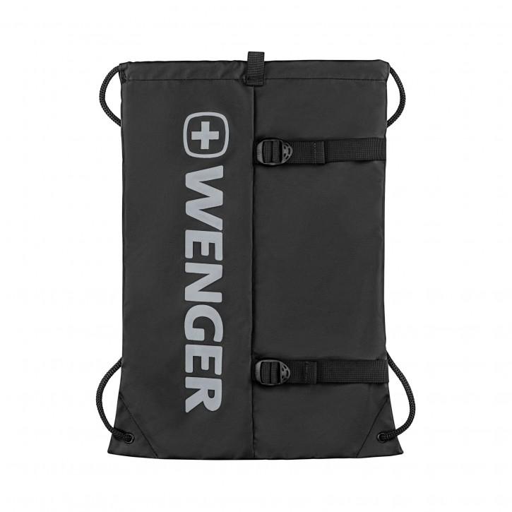 Wenger XC Fyrst Lightweight Drawstring Bag Black