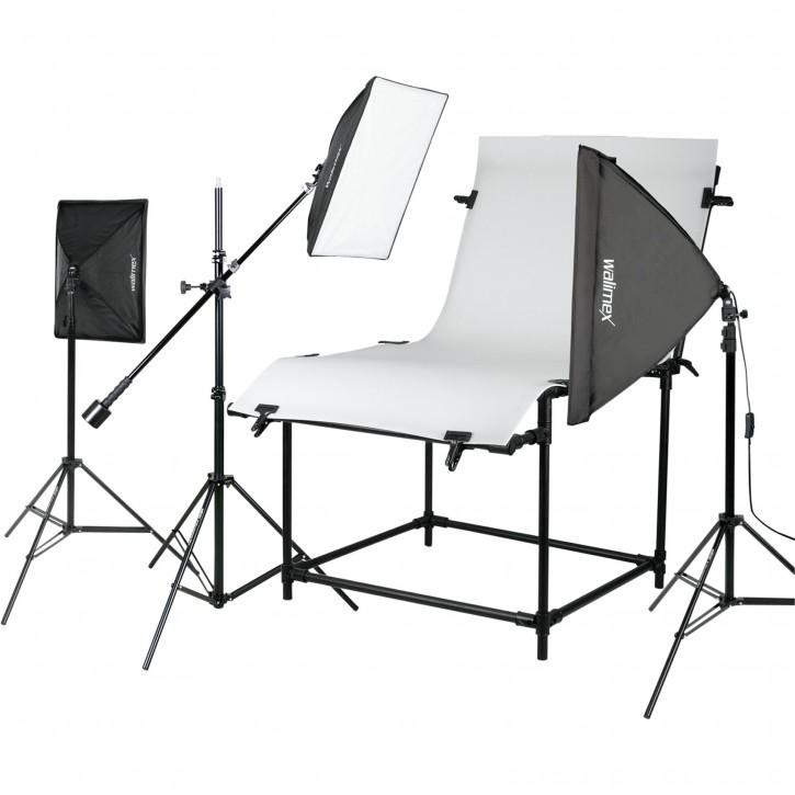 walimex Pro Aufnahmetisch Set Pro Daylight