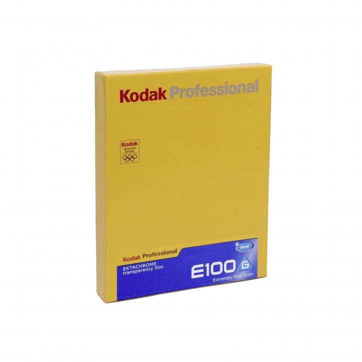 """1 Kodak E-100           4x5"""" 10 Blatt"""