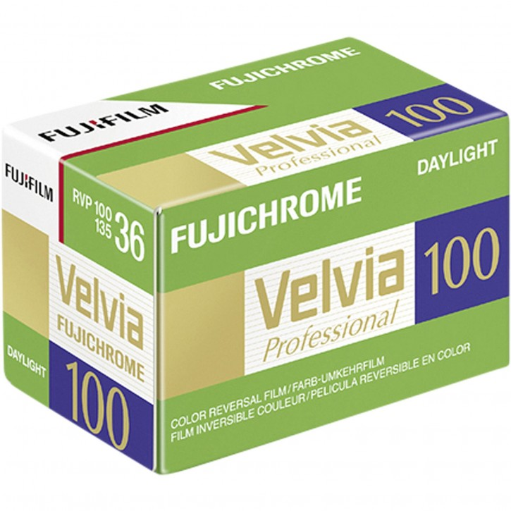 1 Fujifilm Velvia 100   135/36