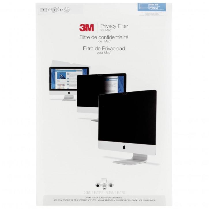 """3M PFIM21v2 Blickschutzfilter Black für Apple iMac 21,5"""" new"""