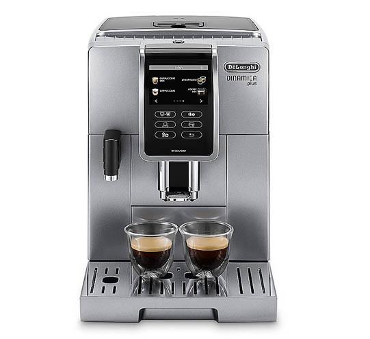 DeLonghi ECAM 370.95.S Dinamica Plus Kaffeevollautomat Silber
