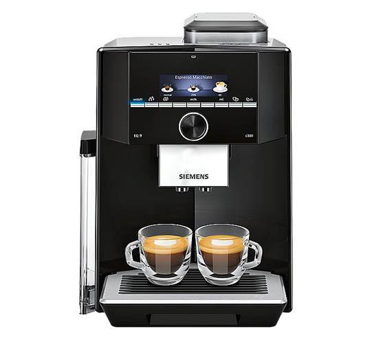 Siemens TI923509DE EQ.9 s300 Kaffeevollautomat schwarz Edelstahl