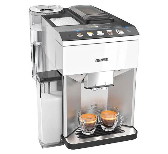 Siemens TQ507D02 EQ.500 integral Kaffeevollautomat Edelstahl