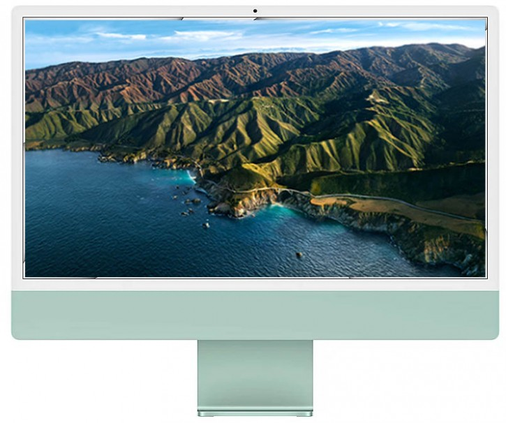 Apple iMac 24-inch 4.5K Retina M1 chip / 256GB Green