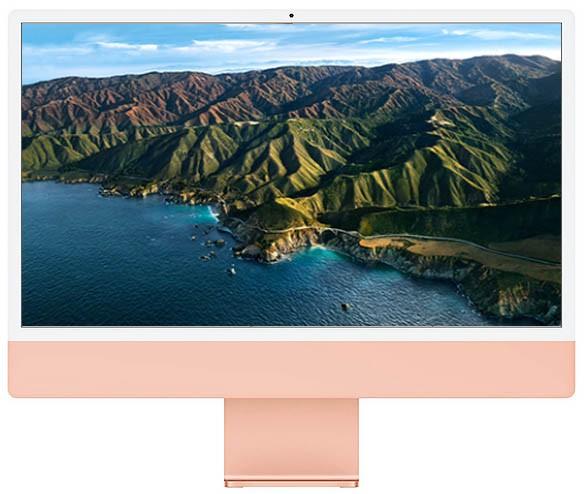 Apple iMac 24-inch 4.5K Retina M1 chip / 256GB Pink