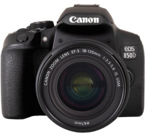 Canon EOS 850D Kit + EF-S 3,5-5,6/18-135 IS USM